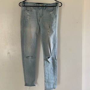 Hollister Crop Skinny Jeans